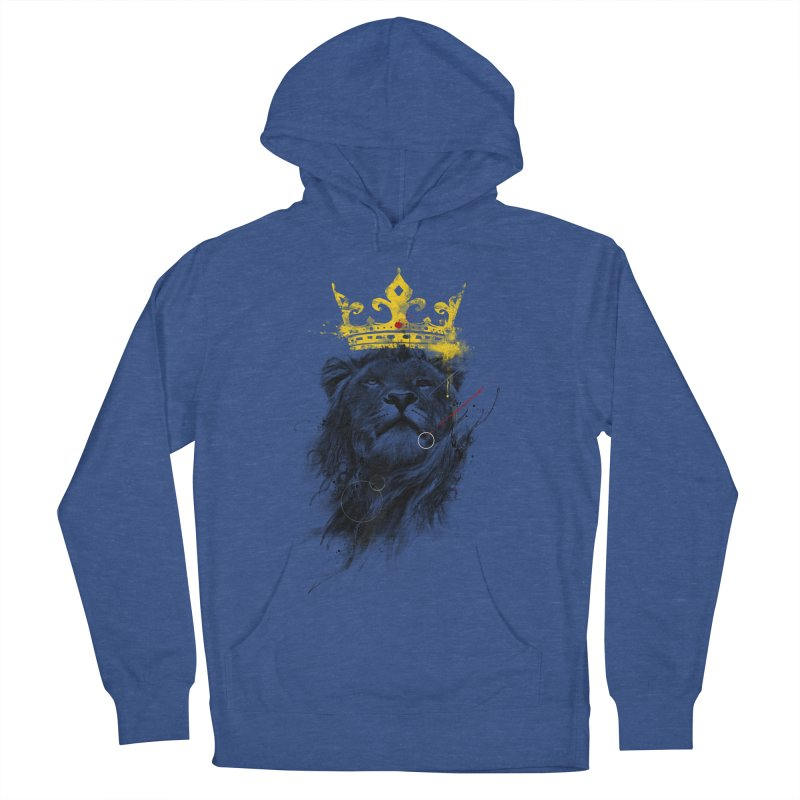 Kitty King Men's French Terry Pullover Hoody by kdeuce's Artist Shop