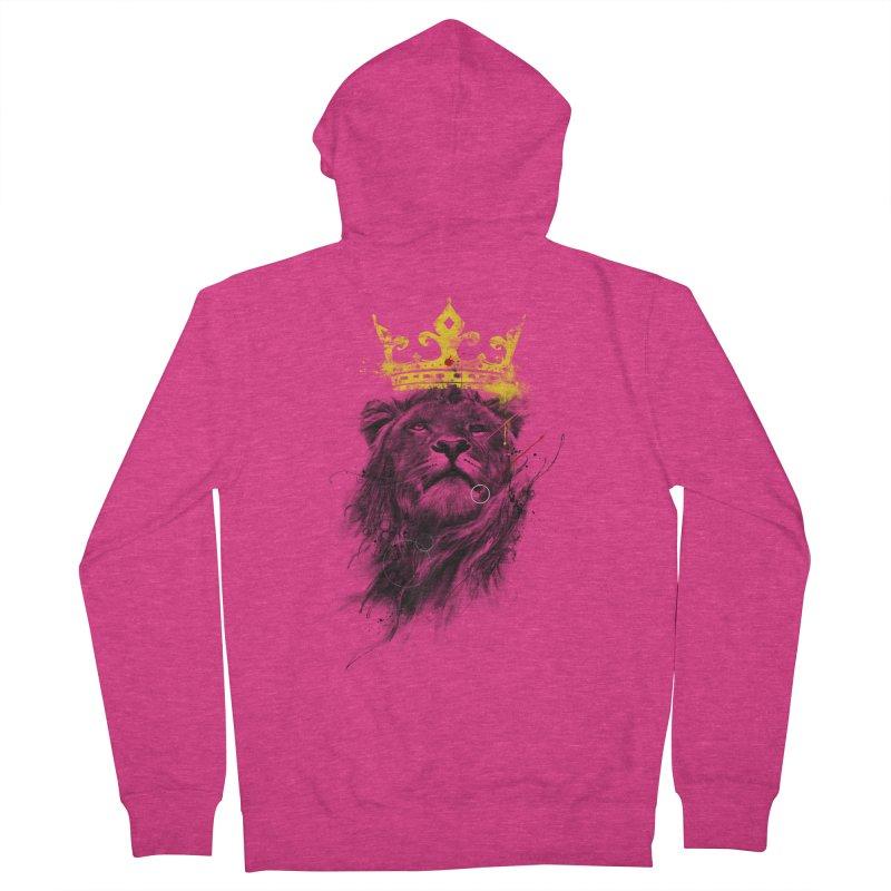 Kitty King Women's Zip-Up Hoody by kdeuce's Artist Shop