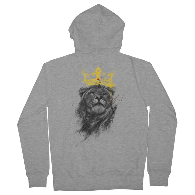 Kitty King Men's Zip-Up Hoody by kdeuce's Artist Shop