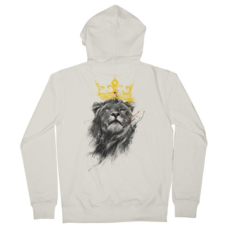 Kitty King Men's Zip-Up Hoody by kdeuce's Artist Shop