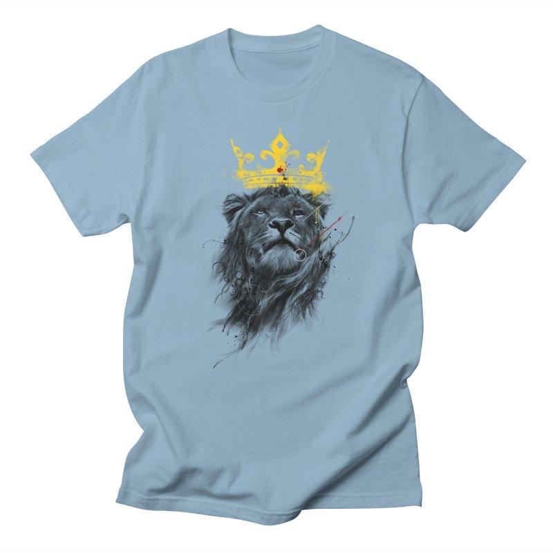 Kitty King Men's T-shirt by kdeuce's Artist Shop