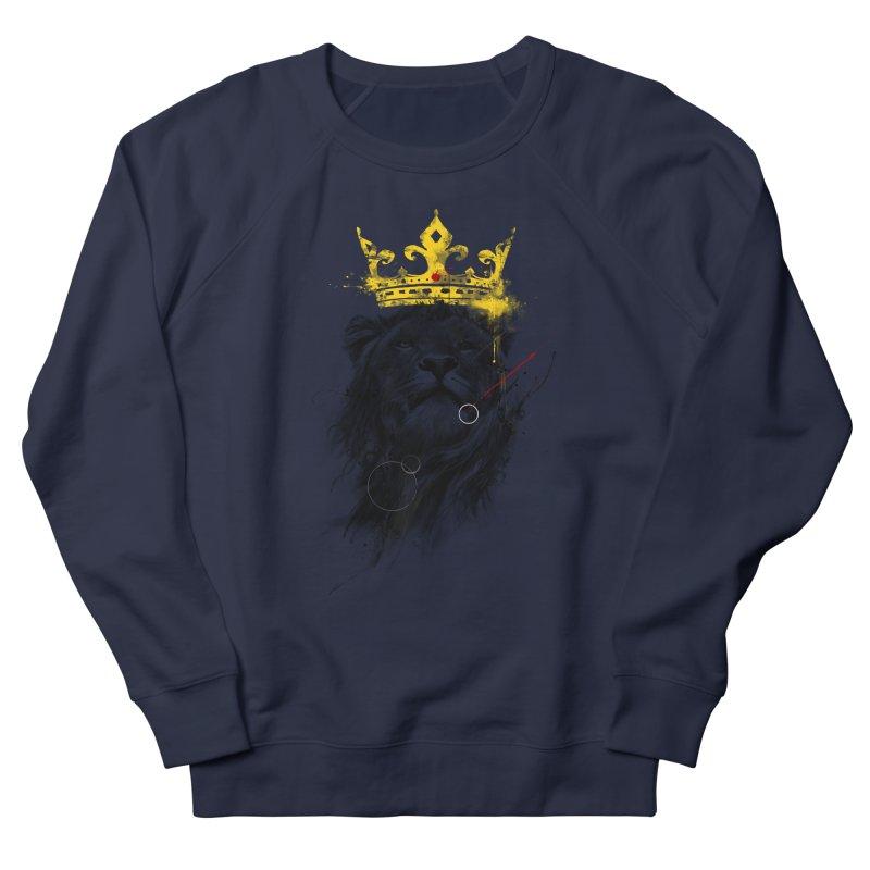 Kitty King Men's Sweatshirt by kdeuce's Artist Shop