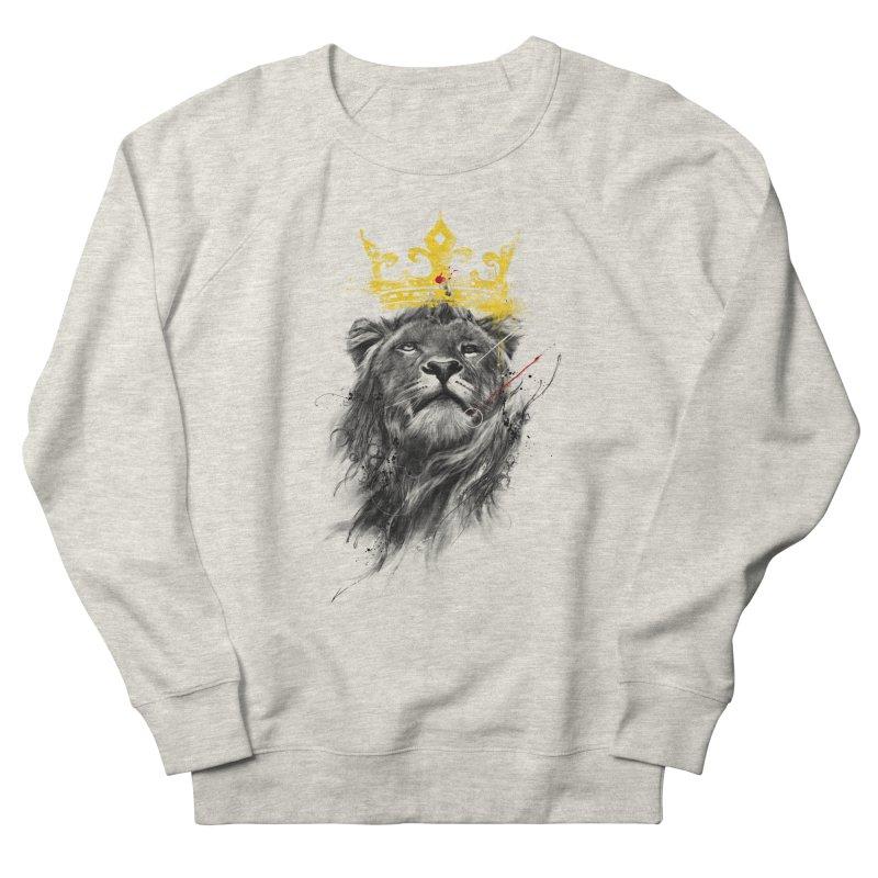 Kitty King Men's French Terry Sweatshirt by kdeuce's Artist Shop