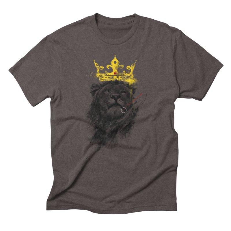 Kitty King Men's Triblend T-Shirt by kdeuce's Artist Shop