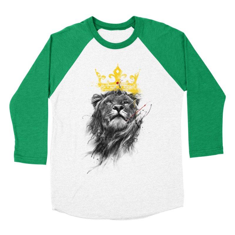 Kitty King Women's Baseball Triblend Longsleeve T-Shirt by kdeuce's Artist Shop