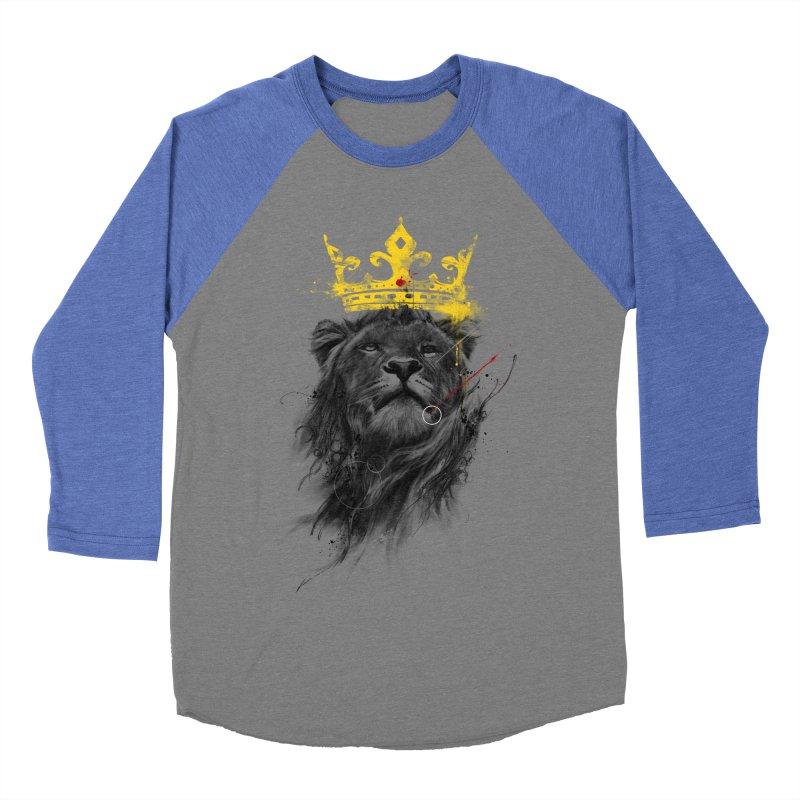 Kitty King Women's Baseball Triblend T-Shirt by kdeuce's Artist Shop