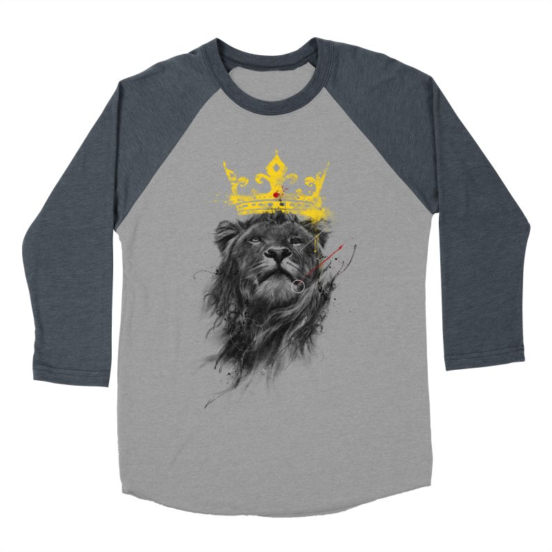 Kitty King Men's Baseball Triblend Longsleeve T-Shirt by kdeuce's Artist Shop