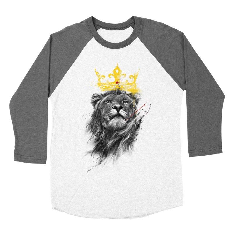 Kitty King Men's Baseball Triblend T-Shirt by kdeuce's Artist Shop
