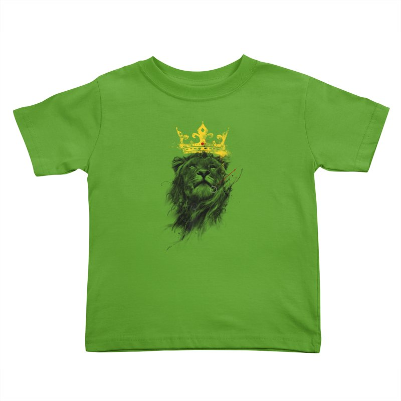 Kitty King Kids Toddler T-Shirt by kdeuce's Artist Shop