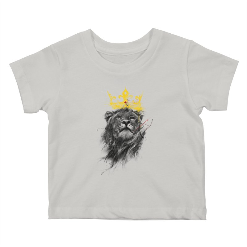 Kitty King Kids Baby T-Shirt by kdeuce's Artist Shop