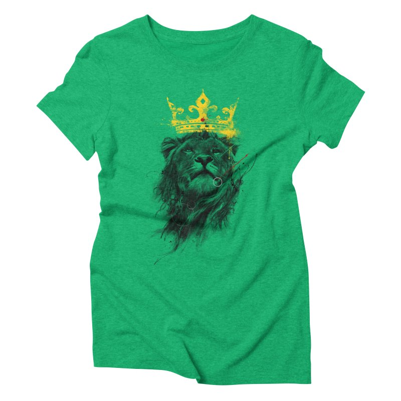 Kitty King Women's Triblend T-shirt by kdeuce's Artist Shop