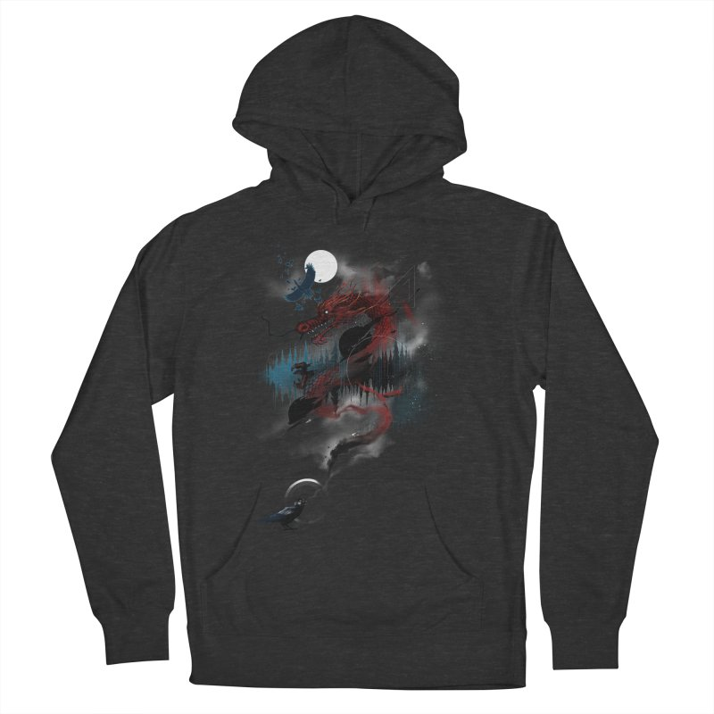 Nebulous Nightingale Men's Pullover Hoody by kdeuce's Artist Shop