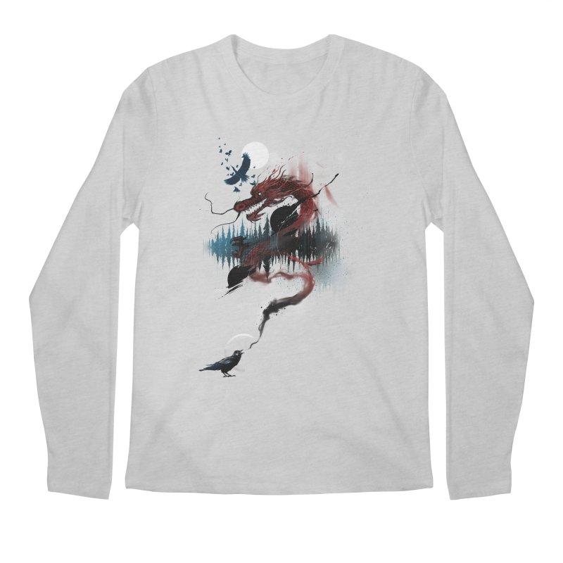 Nebulous Nightingale Men's Longsleeve T-Shirt by kdeuce's Artist Shop