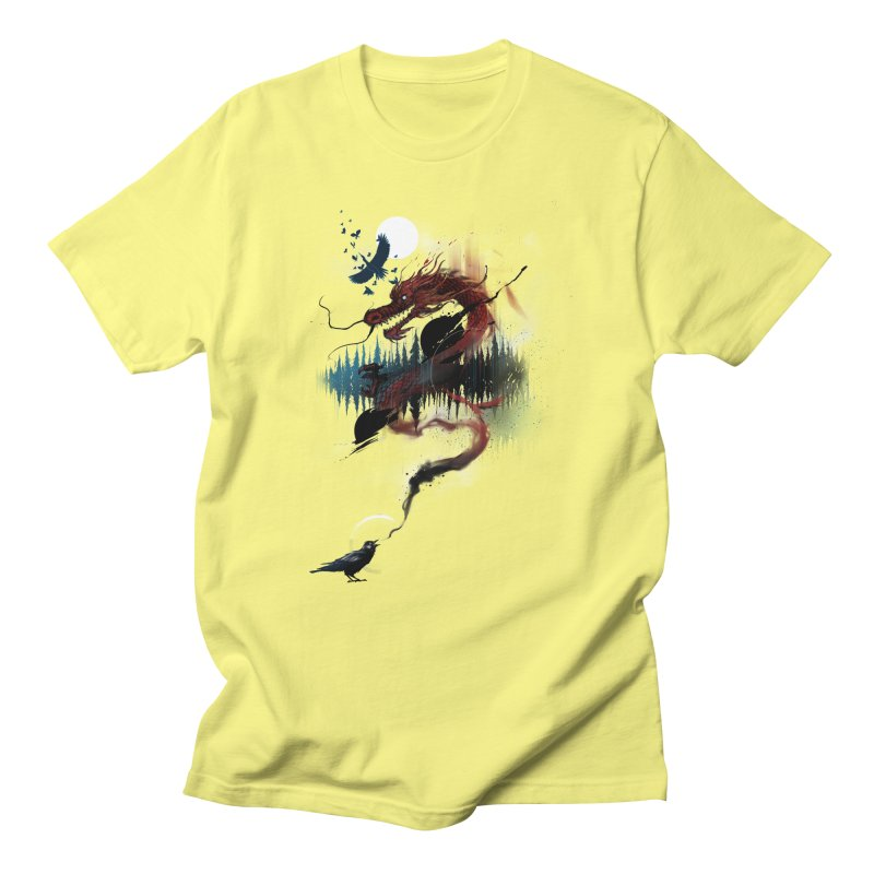 Nebulous Nightingale Men's T-Shirt by kdeuce's Artist Shop