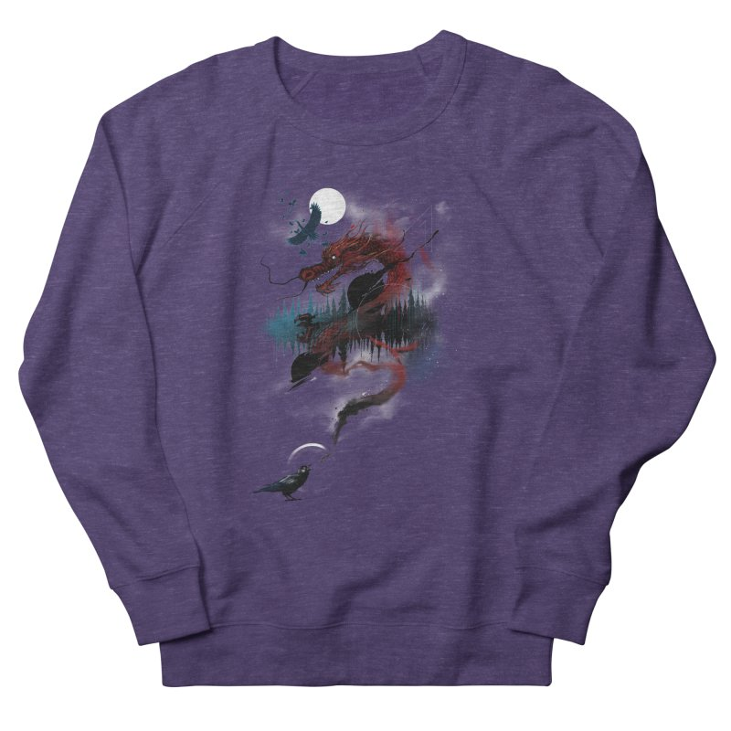 Nebulous Nightingale Women's French Terry Sweatshirt by kdeuce's Artist Shop