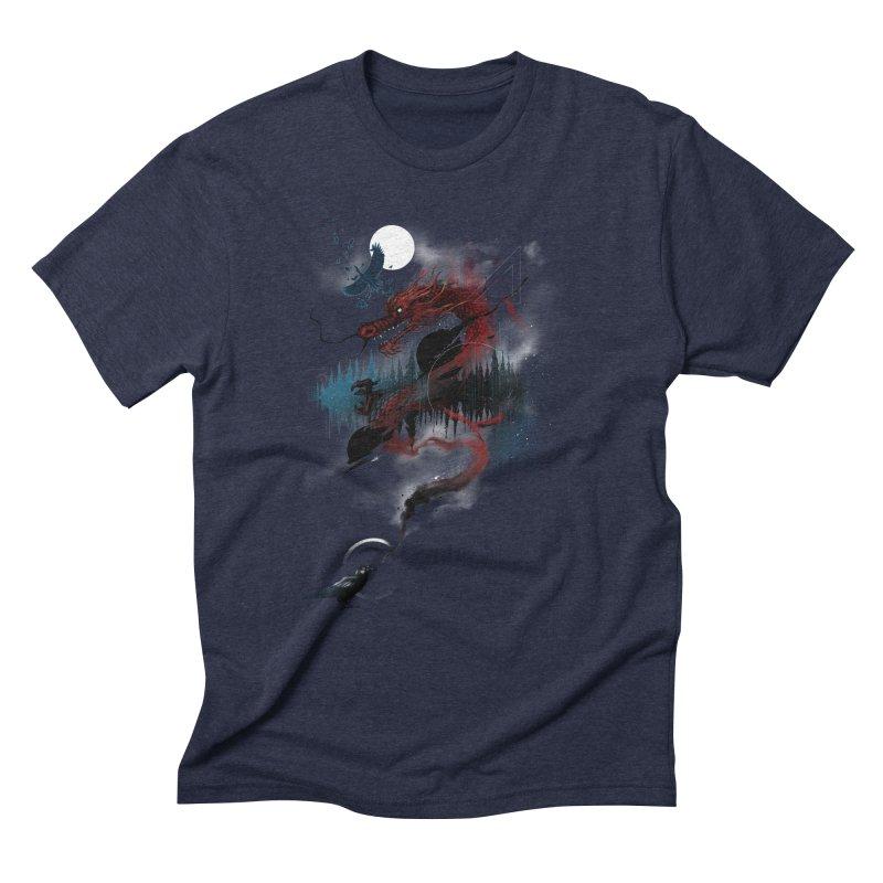 Nebulous Nightingale Men's Triblend T-Shirt by kdeuce's Artist Shop