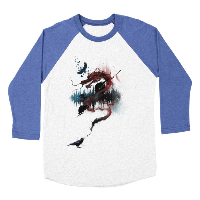 Nebulous Nightingale Women's Baseball Triblend T-Shirt by kdeuce's Artist Shop