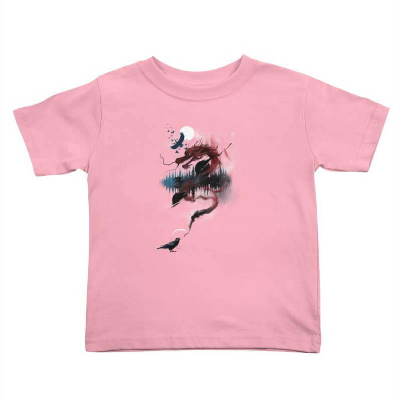Nebulous Nightingale Kids Toddler T-Shirt by kdeuce's Artist Shop