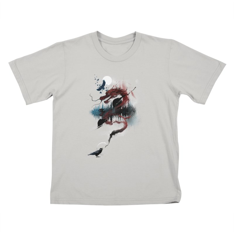 Nebulous Nightingale Kids T-shirt by kdeuce's Artist Shop