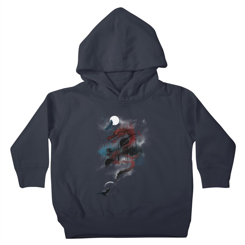 Nebulous Nightingale Kids Toddler Pullover Hoody by kdeuce's Artist Shop