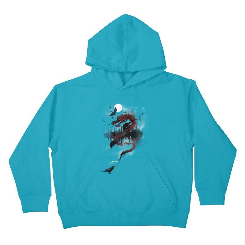 Nebulous Nightingale Kids Pullover Hoody by kdeuce's Artist Shop