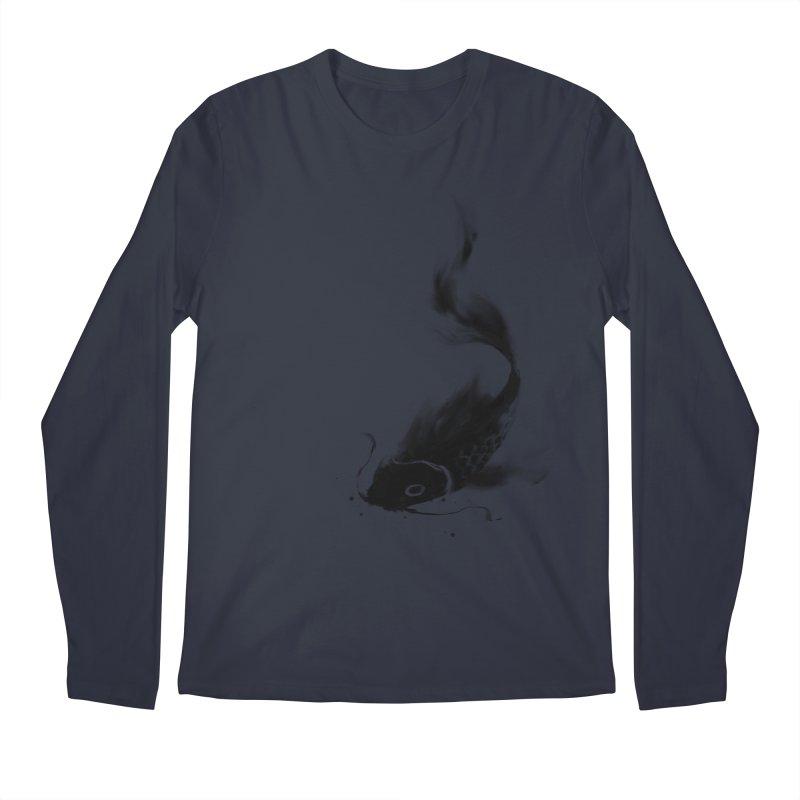 Koi Wash Men's Regular Longsleeve T-Shirt by kdeuce's Artist Shop