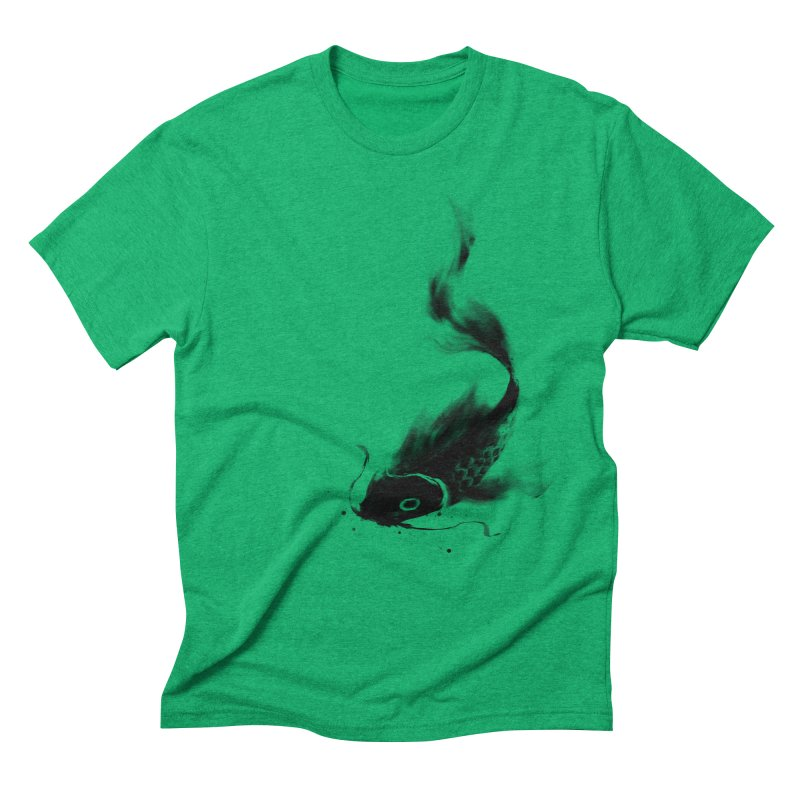 Koi Wash Men's Triblend T-Shirt by kdeuce's Artist Shop