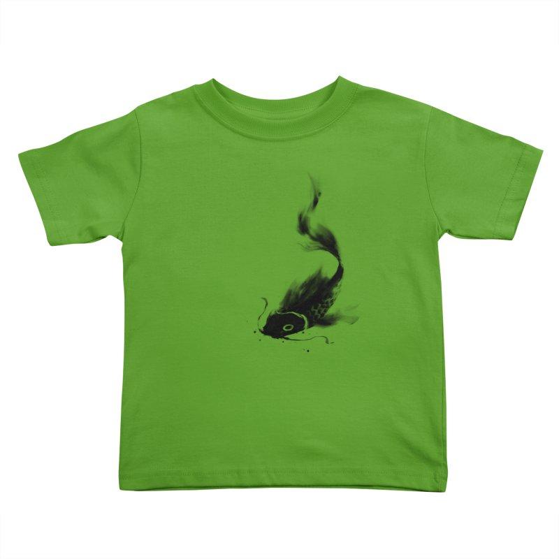 Koi Wash Kids Toddler T-Shirt by kdeuce's Artist Shop
