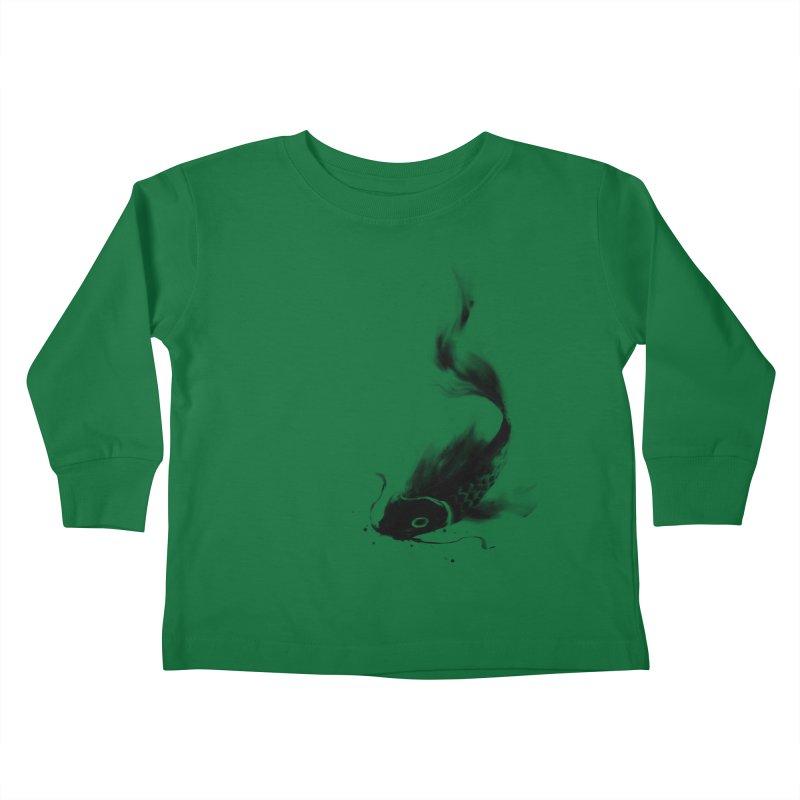 Koi Wash Kids Toddler Longsleeve T-Shirt by kdeuce's Artist Shop