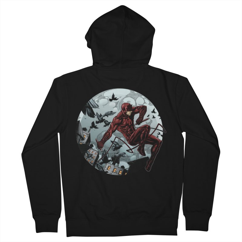 Fearless Men's Zip-Up Hoody by Keatopia Apparel