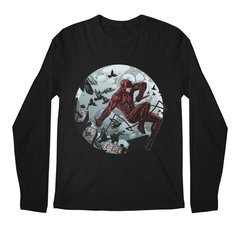 Fearless Men's Longsleeve T-Shirt by Keatopia Apparel
