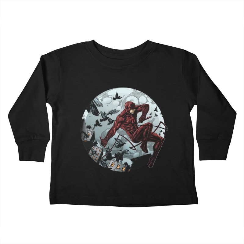 Fearless Kids Toddler Longsleeve T-Shirt by Keatopia Apparel