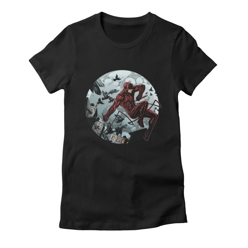 Fearless Women's Fitted T-Shirt by Keatopia Apparel