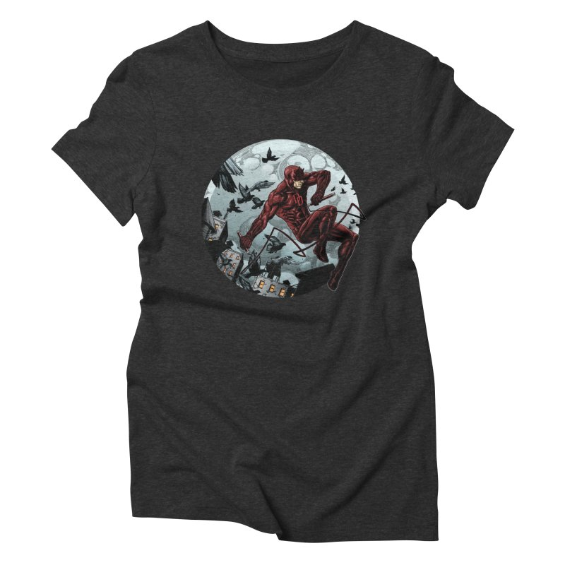 Fearless Women's Triblend T-shirt by Keatopia Apparel
