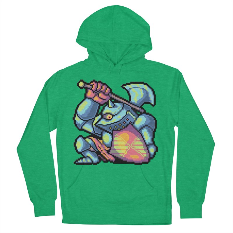Knight Errant  Men's French Terry Pullover Hoody by Things You Might Find In A Dungeon