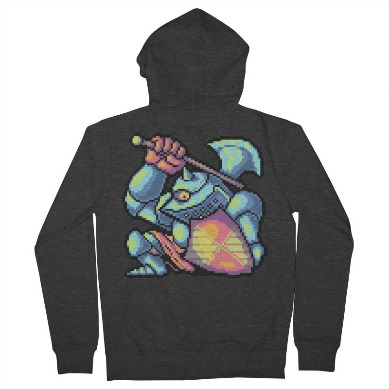 Knight Errant  Women's French Terry Zip-Up Hoody by Things You Might Find In A Dungeon