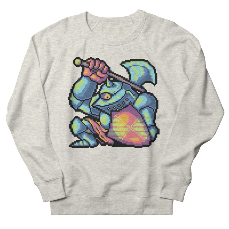 Knight Errant  Men's French Terry Sweatshirt by Things You Might Find In A Dungeon