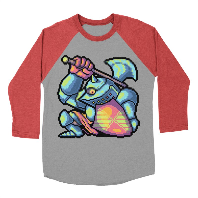 Knight Errant  Men's Baseball Triblend Longsleeve T-Shirt by Things You Might Find In A Dungeon