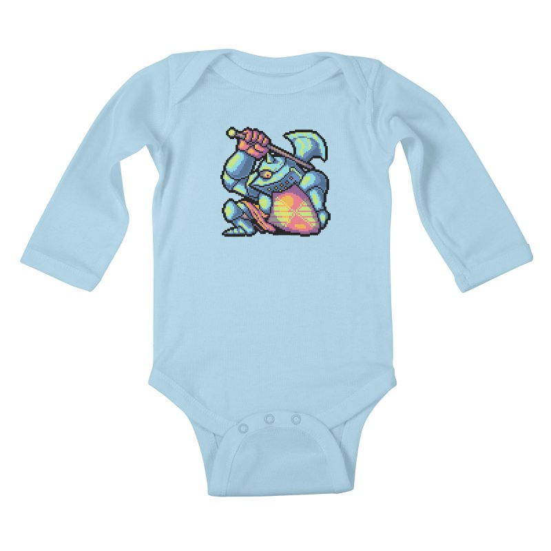 Knight Errant  Kids Baby Longsleeve Bodysuit by Things You Might Find In A Dungeon