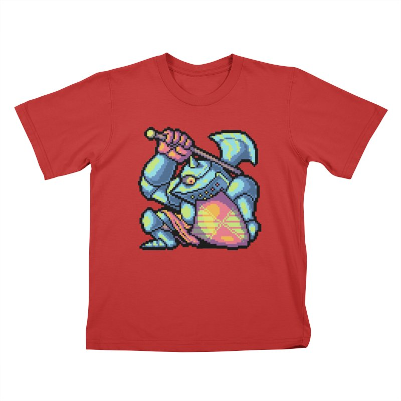 Knight Errant  Kids T-Shirt by Things You Might Find In A Dungeon