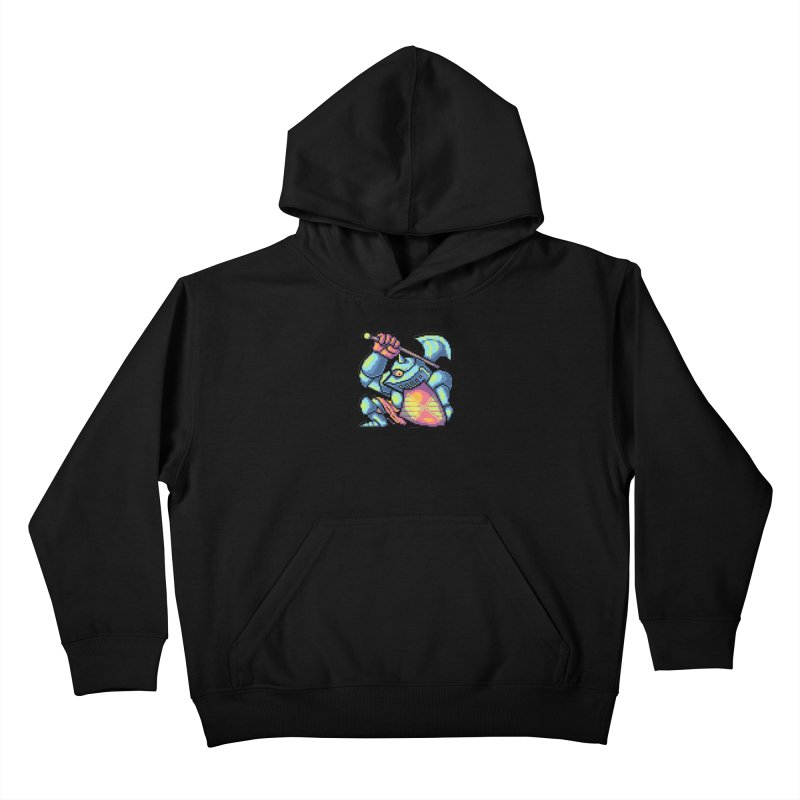 Knight Errant  Kids Pullover Hoody by Things You Might Find In A Dungeon