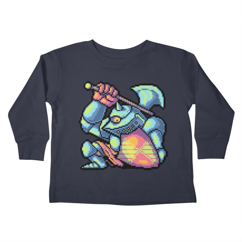 Knight Errant  Kids Toddler Longsleeve T-Shirt by Things You Might Find In A Dungeon