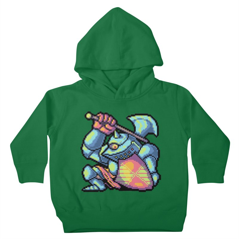 Knight Errant  Kids Toddler Pullover Hoody by Things You Might Find In A Dungeon