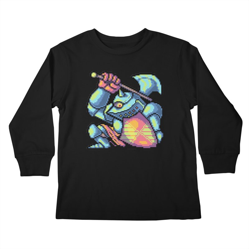 Knight Errant  Kids Longsleeve T-Shirt by Things You Might Find In A Dungeon