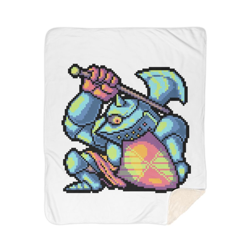 Knight Errant  Home Sherpa Blanket Blanket by Things You Might Find In A Dungeon