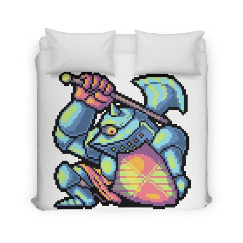 Knight Errant  Home Duvet by Things You Might Find In A Dungeon