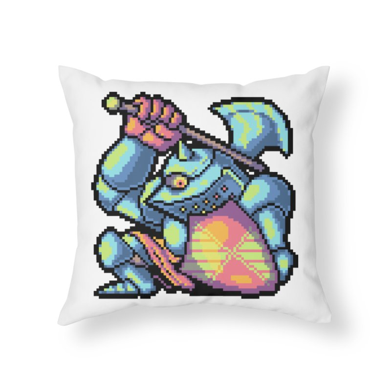Knight Errant  Home Throw Pillow by Things You Might Find In A Dungeon