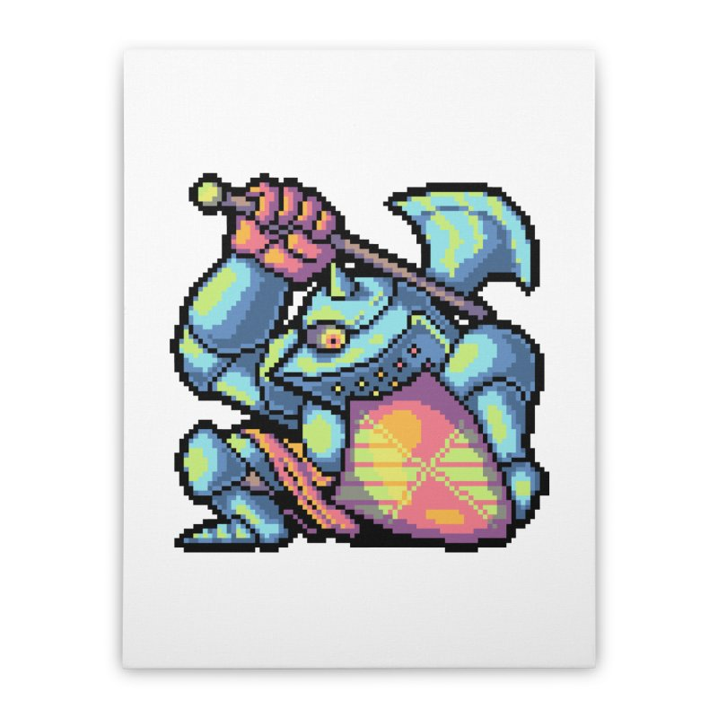 Knight Errant  Home Stretched Canvas by Things You Might Find In A Dungeon