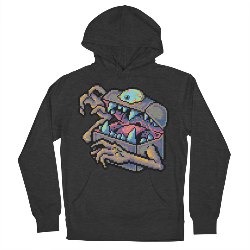 A Deadly Mimic Women's French Terry Pullover Hoody by Things You Might Find In A Dungeon