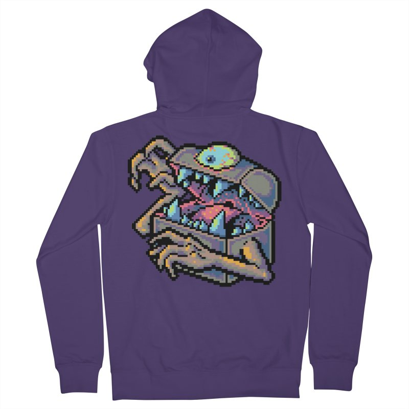 A Deadly Mimic Women's French Terry Zip-Up Hoody by Things You Might Find In A Dungeon